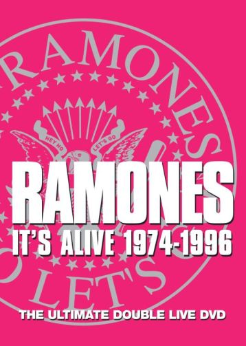 Bop-Pills Ramones It's Alive