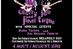 Jimi Hendrix Gerry Joe Weise blues guitarist guitariste de blues