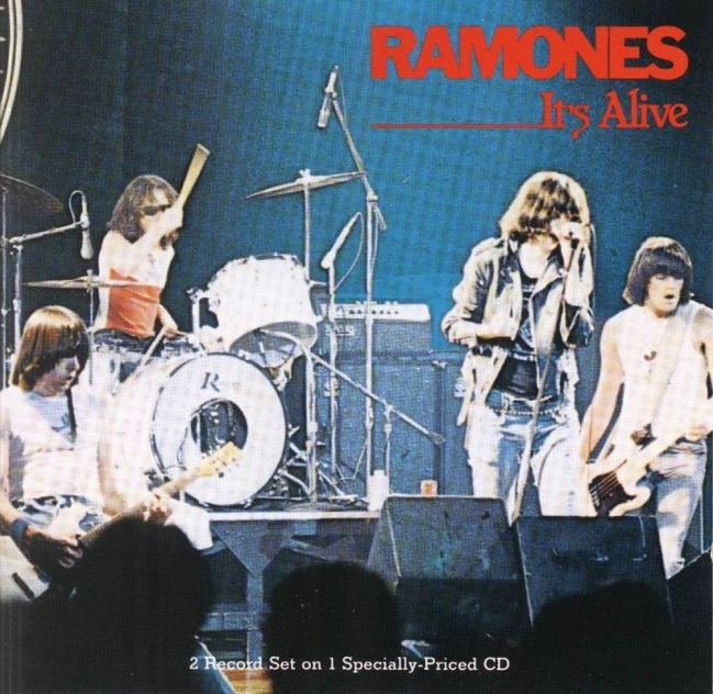 Bop-Pills The Ramones It's Alive