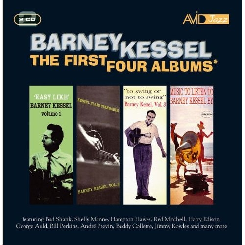 Bop-Pills -  Barney Kessel  The First Four Albums