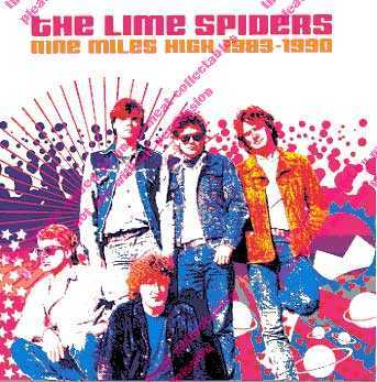 Lime_Spiders_Nine_Miles_High