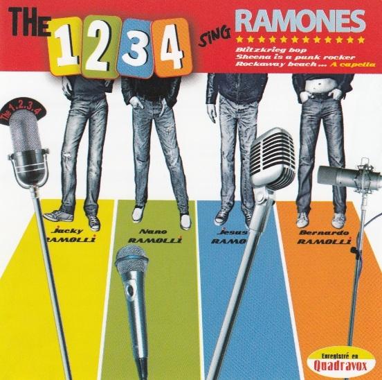 Bop-Pills 1234 sing the ramones