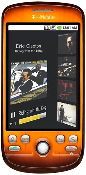 T-MoBiLe – 3G FeNDeR éDiTioN Plus – eRiC CLaPToN !