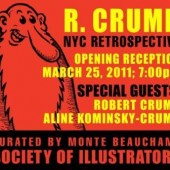 "RoBeRT CRuMB Rétrospective  - ""LiNeS DRaWN oN PaPeR"""