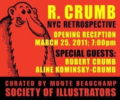 "RéTRoSPeCTiVe RoBeRT CRuMB – ""LiNeS DRaWN oN PaPeR"""