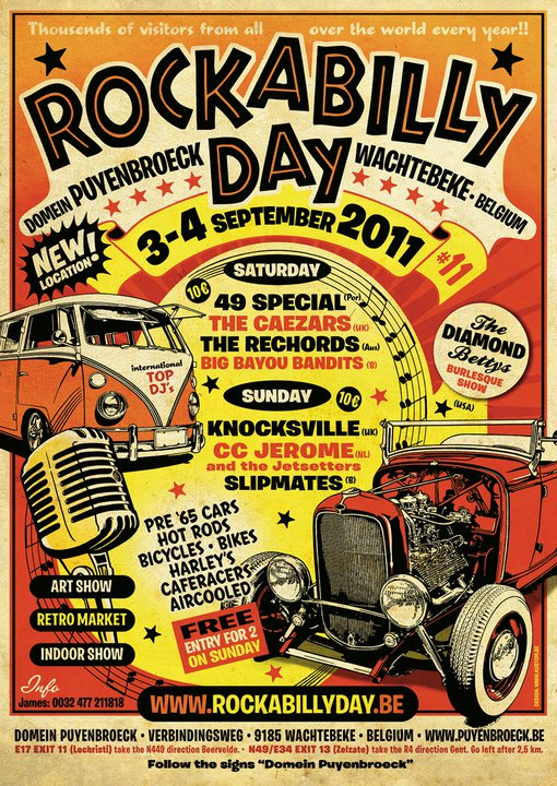 RoCKaBiLLY Day - SePTeMBre 2011