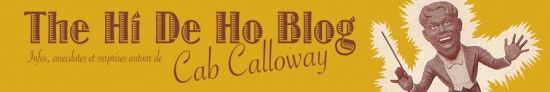 CHaiN oF FooLS cab calloway