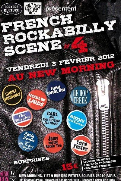Le GRaTiN Du RoCKaB' FRaNCaiS au NeW-MoRNiNG Le 3 FéVRieR 2012 !