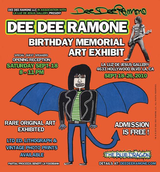 Dee Dee Ramone Expo