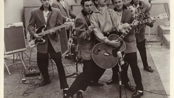 Gene Vincent and the Blue Caps Story - Bop Pills - Beeb Hopo